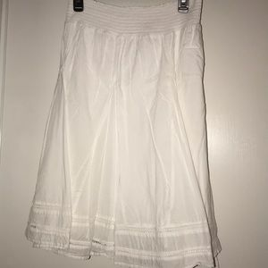 Merona size 2X cotton layered skirt